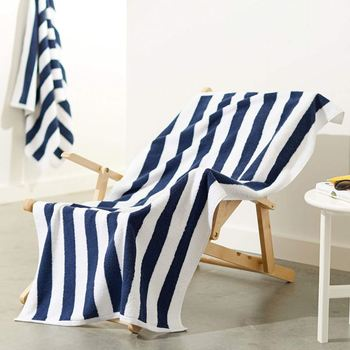 도매 큰 size canbana stripe soft 100 cotton beach 수건 swimming 건조 (dry) 수건