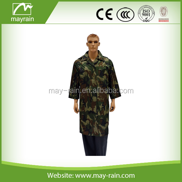 outdoor Camouflage militry rain jacket