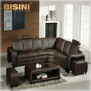 Hot Sale Sectional Sofa Modern European Style Genuine Leather L ...