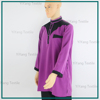 A Custom Mens Double collar Sexy Kurta High Quality Dress Sudanese Women Thobe Comfortable Polyester Full Sleeve Jubah For Men