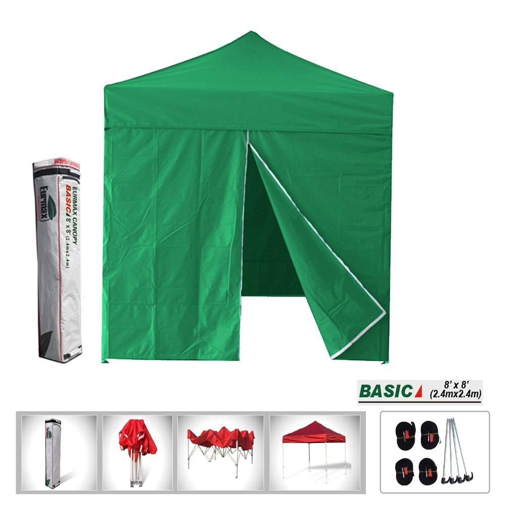 Get Quotations · Eurmax Basic 8x8 Ez Pop up Canopy with Sidewalls Wedding Gazebo Outdoor Tent with Deluxe carry  sc 1 st  Alibaba & Cheap 8x8 Pop Up Canopy find 8x8 Pop Up Canopy deals on line at ...