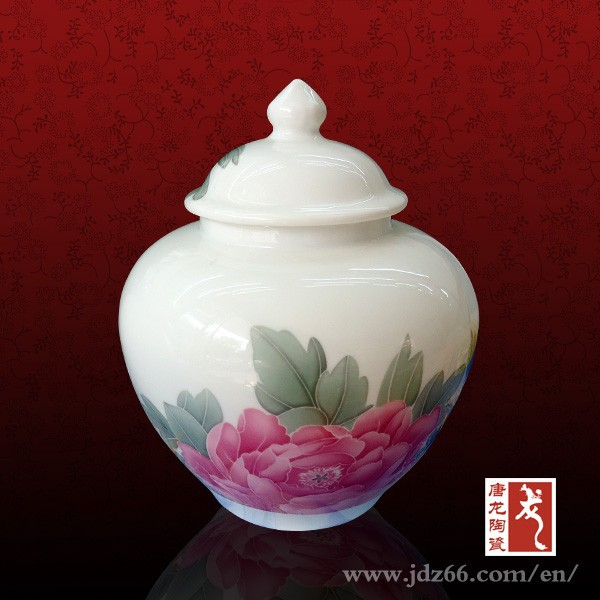 Eco friendly white ceramic cookie jar christmas candy jars