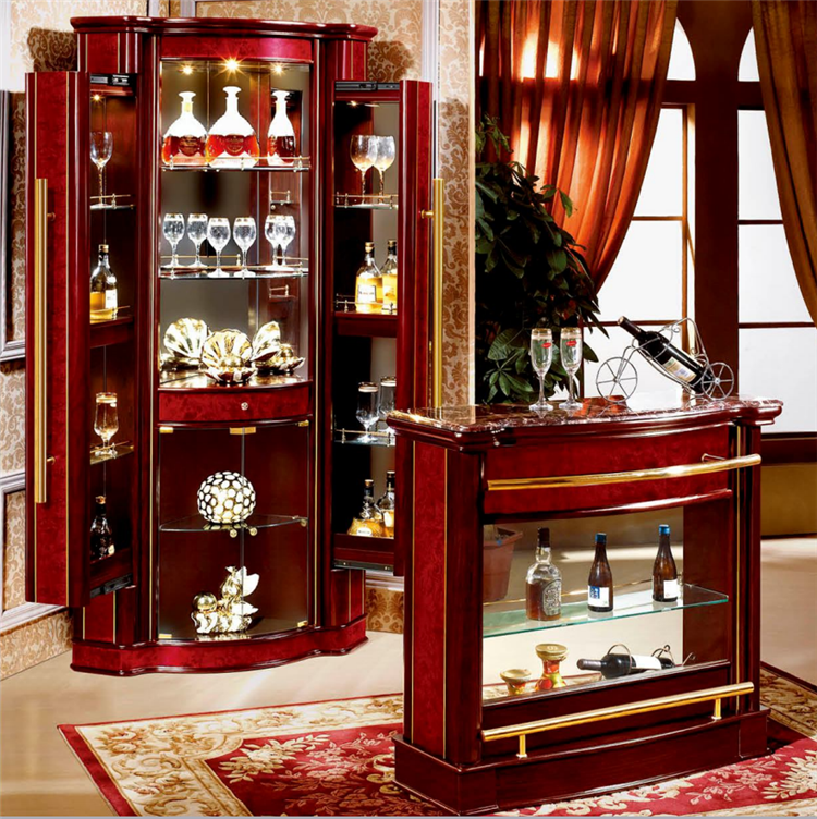 Living Room Modern Corner Bar Cabinet Furniture ,Home Bar Cabinet