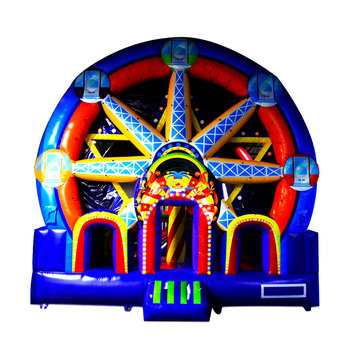 NEVERLAND TOYS inflatable jumping castles inflatable bouncy castle with slide Ferris wheel inflatable castles for kids
