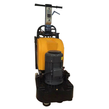 Concrete marble floor polishing machine