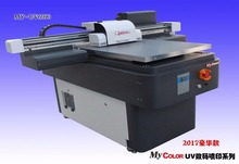 2017 best sales digital led uv flatbed printer, stable quality A1 size uv printer printing onto PVC Card, USB, Wood, Case