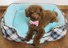 Hot selling pp cotton dog beds winter pet house pet bed crib