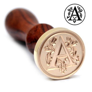 Customized alphabet Wax seal Stamps for Weddings & Business