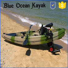 2015 Hot NEW Desgin Single fishing kayak / Rudder Kayak/Paddle kayak
