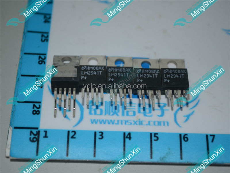 LM2941T IC Real photo, New & Original, round / Curved PIN 1A Low Dropout Adjustable Regulator, TO-220, NS LM2941T