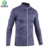 Full Zip Winter Running Shirt Stand collar men's Slim Fit Soft Shell Jacket Without Hoodie Track Jacket Yoga Wear