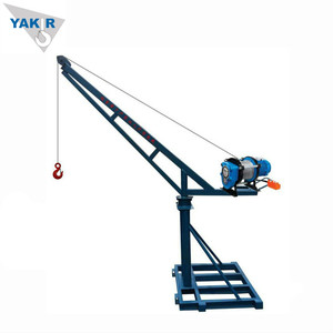 Durable For Construction Site Use Mini Crane 500kg