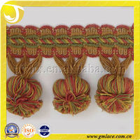 Handmade Woven And Tassel For Decoration Curtain Accessory