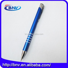 7 years gold supplier colorful metal black ball pen