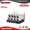 cctv security system product P2P service 1 megapixel high defination wireless wifi camera kit