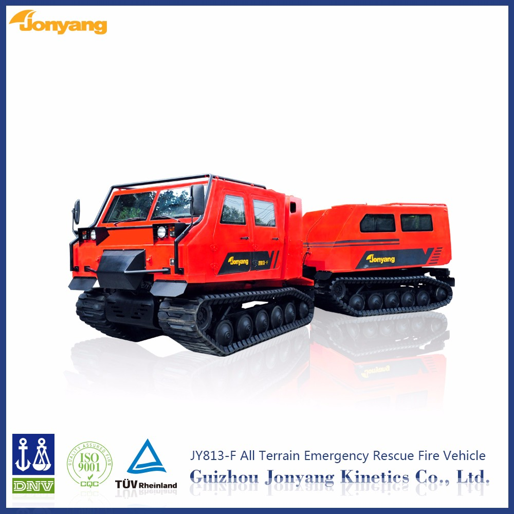 JYL813-F tracked all-terrain fire crawler rescue vehicle