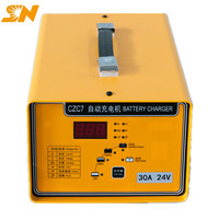 Shineng CZC7 20A 24V smartgen battery regenerator charger for forklift electric vehicle agv and so on