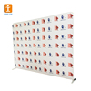 Media Wall Sign , Step and Repeat Adjustable banner stand Telescopic Backdrop