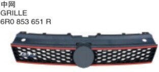 For VW polo cross 2012 bumper grille/front bumper up/rear bumper lower