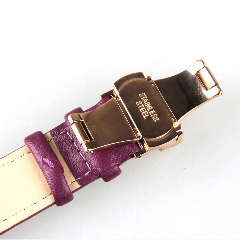 Butterfly buckle strap wholesale wood watch low moq mix colors