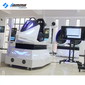 Cool and exciting 3 DOF electric system 9d vr car simulator car racing