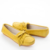 Different Colors Breathable Light Weight Genuine Leather Moccasin Casual Shoes Women Flats