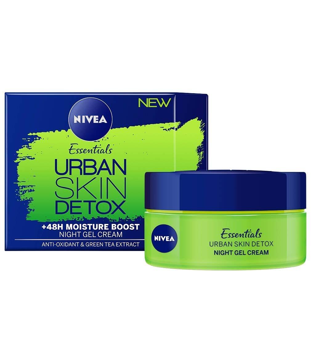 Cheap Nivea Night Cream Find Deals On Line At Creme Tin 60ml Get Quotations Essentials Urban Skin Detox Gel 50 Ml 17 Oz
