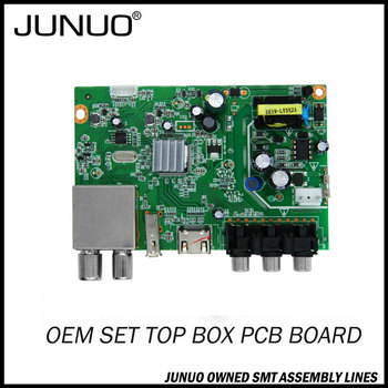 JUNUO china manufacture SKD CKD sales set top box pcb circuit board