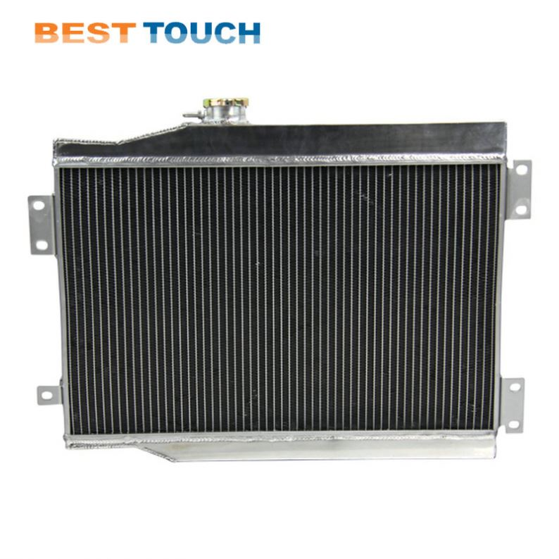 High Performance Car Engine Cooling Aluminum Radiator For F150 F250