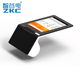 Low price Retail Android Lottery Tablet POS Terminal Machine Price With NFC RFID Reader Thermal Printer Camera ZKC901