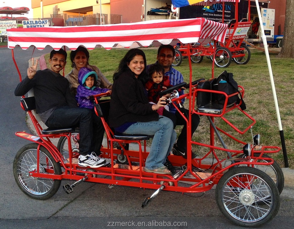 Rickshaw Four Person Bike 4 Seat Bike For Touring Buy 4