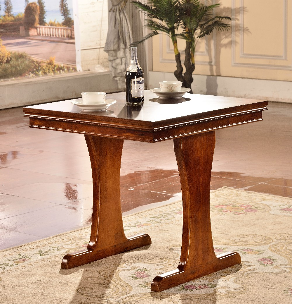 Simple Dining Table Western Style Wooden Dining Table View Dining Table Dianfan Product Details From Foshan Dianfan Furniture Co Ltd On Alibaba Com