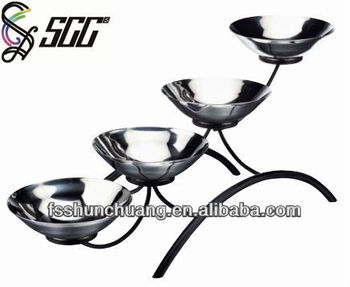 Stainless Steel Bowl Stand/stainless Steel Food Tray Stand/metal ...