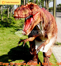 High quality interactive realistic robotic dinosaur costume