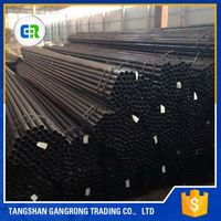 Various Od Carbon Scaffolding Construction Welded Steel Pipe