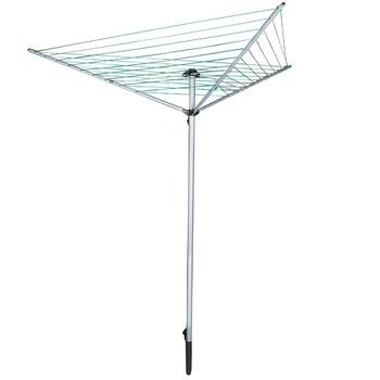 Aluminum Folding Outdoorgarden Umbrella Washing Lineclothes Drying