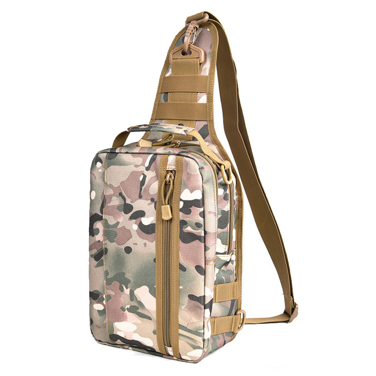 Engagement & Wedding Fashion Outdoor Unisex Sport Chest Bags Outdoor Students Sport Pure Color Zipper Crossbody Chest Phone Bag Sac #800 Rapid Heat Dissipation