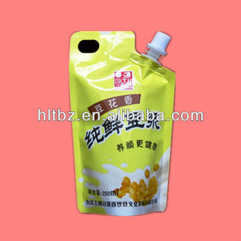 Soya Bean Milk Bag Juice Spout Packaging