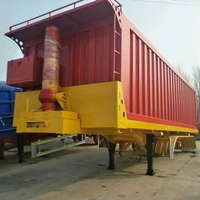 heavy duty dump truck's Dumper bodies with strong cylindrical