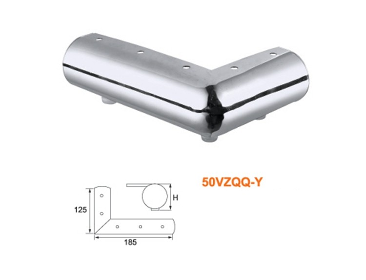 Alibaba Latest Technology Promotional chormoed Leg Iron Metal Foot For Sofa