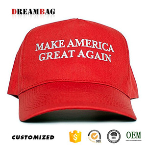 America baseball caps factory high quality custom embroidery make america great again hats
