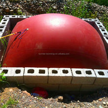 Cheap and fine balloon for biogas system for methane digester