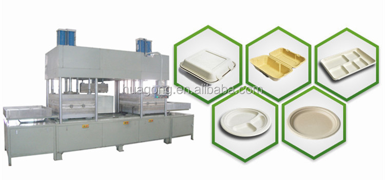 HGHY Fully Automatic Disposable Tableware Machine Production Line ZJF215-7052