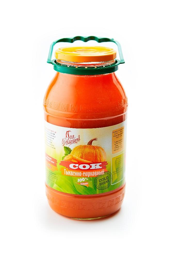 Carrot-Pumpkin juice with pulp