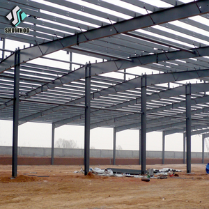 Low cost industrial shed design galvanized frame steel structure metal barn building