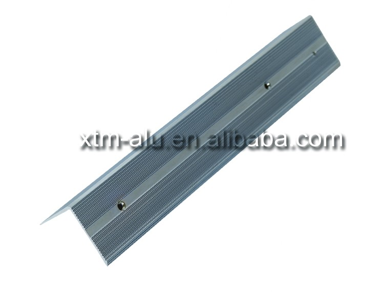 High quality stair nosing edge protection anti slip edge trim,one stop manufacturer