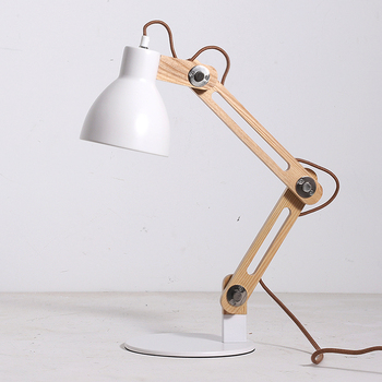 Modern Table Lamps Rustic Style Bamboo Desk Light Creative Book Lamp ...