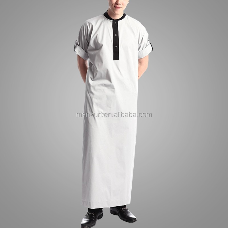 2016 Latest Design Men Gender Rolled Thobe Clothing Type Dubai ...