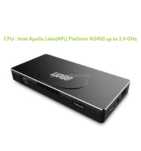 Intel Apollo lake N3450 Ubuntu mini pc with 4gb ram 64gb/128gb SSD