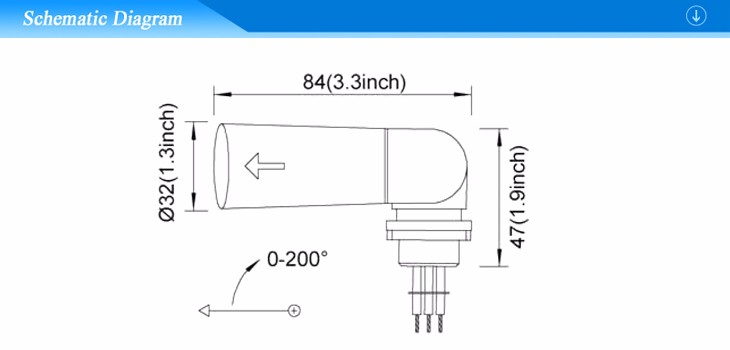 Thermal Pencil Swiveling Type Photocell Sensor For Street Light